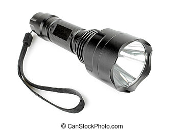 Modern led flashlight