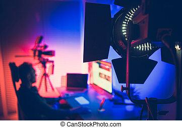 Film Studio LED Professional Lighting