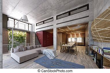 Modern Loft - A modern loft