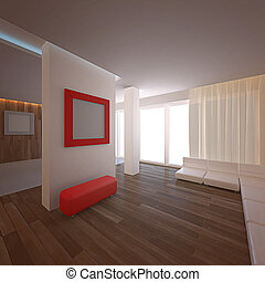 Modern loft. No copyrights, my design project