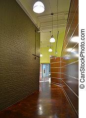 Modern Loft Hallway