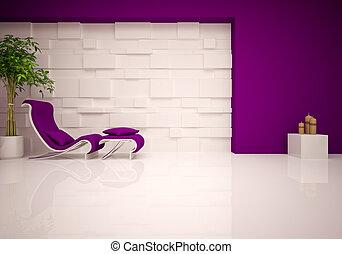 modern lounge & relax room - Modern lounge & relax room in...