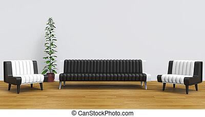 Modern Lounge Room 2