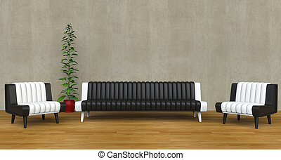 Modern Lounge Room 3