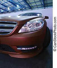 modern, luxury autó