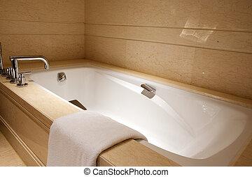 Blaues Elfenbein Wanne Badezimmer Bad Rosa Antikes Elfenbein
