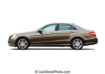 modern, luxus, geschaeftswelt, sedan