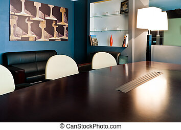modern meeting room