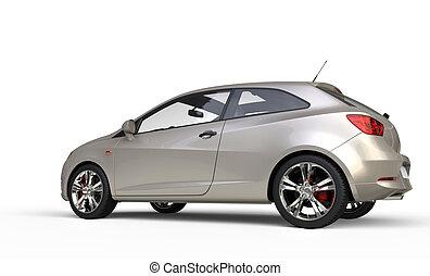 Modern Metallic Car