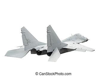 modern, militärisches flugzeug