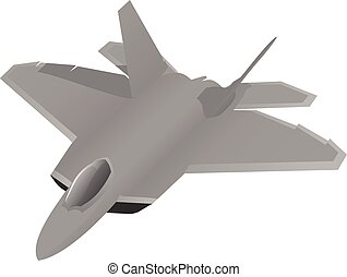 Modern Military Fighter Jet Aircraft