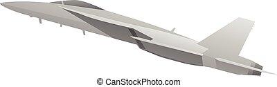 Modern Military Fighter Jet Aircraft - Modern world class...