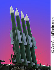 Modern military launched intermediate-range missiles, Russia