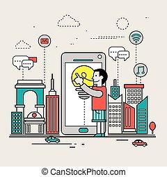 modern mobile life