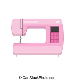 Modern model of electronically controlled sewing machine...