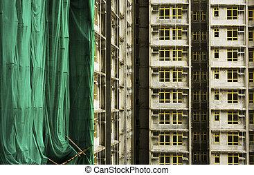 modern monolithic construction in hong kong