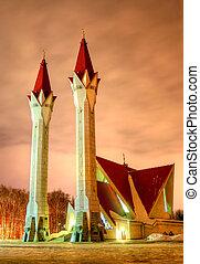 Lala Tulpan mosque in Ufa, Russia