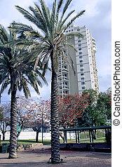 Modern multistory architecture