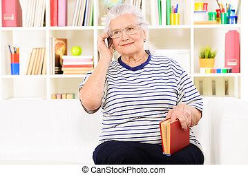 modern, nagymama