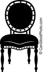 Modern Neoclassic chair