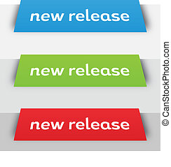 Modern New Release Perspective Banners - Modern new release...