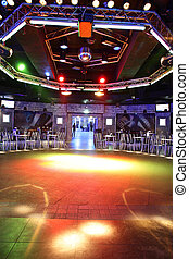 modern night club in european style - european stylish night...