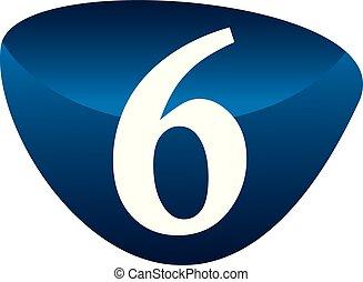 Modern Number 6