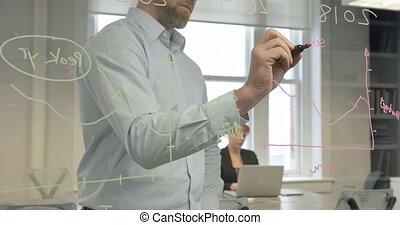 modern, office, arbeitende , profis, geschaeftswelt