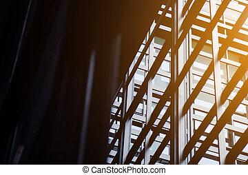 building exterior - Modern office building exterior