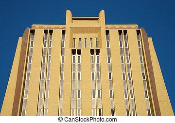 Modern Office Building Facade in Bamako