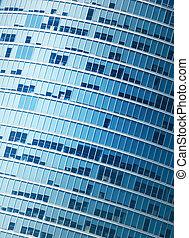 Modern office building fragment