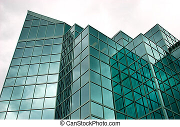 Modern Office Building - This is a modern glass office...