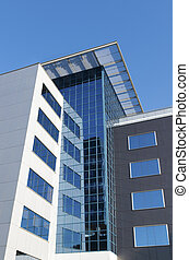 modern office buildings exterior