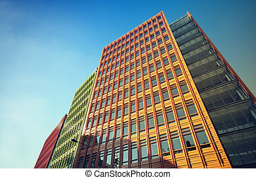 Modern Office Buildings in Central-London.
