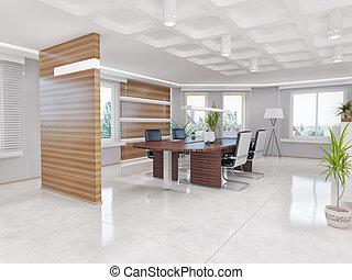 office interior - modern office interior. design concept