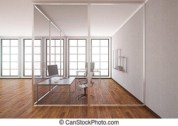 Modern office interior side