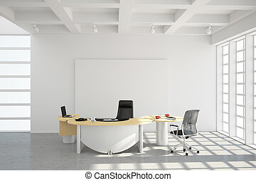 Modern office loft style