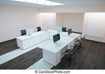 Modern office side