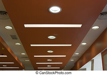 Modern Path / Mall / Subway / Architecture Ceiling