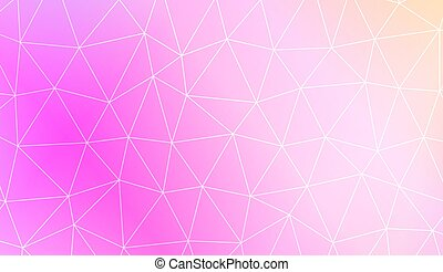 Vector illustration. - Modern pattern in polygonal pattern...
