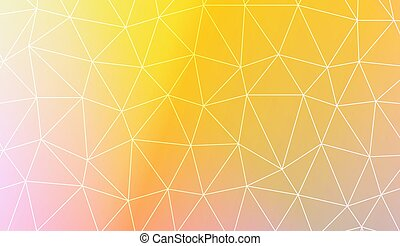 Modern pattern in polygonal pattern with triangles style....