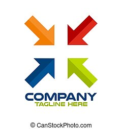 modern, pfeil, logo, apotheke