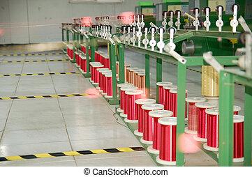 Modern planned factory floor