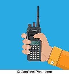 Military radio portable device  Military portable radio