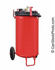 Modern powder fire extinguisher