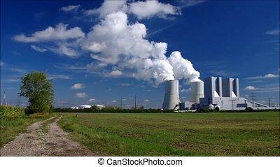 power plant - modern power plant