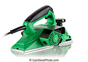 modern powerful and efficient electric planer