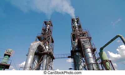 Modern Production. Industrial view