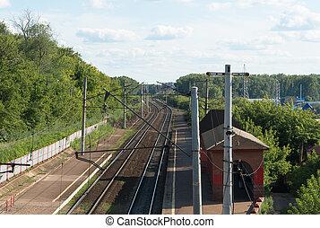 railway passenger station
