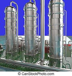 Modern refinery